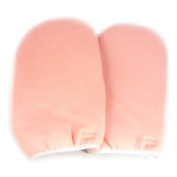 Paraffin Wax Protection Hand Gloves - Pink/Blue CODE