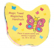 Magic Towel Butterfly Expanding Face Cloth