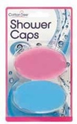 Cotton Tree - 2 Pack Shower Caps - Pink & Blue