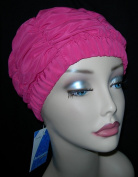 Ladies Pink Shower Cap Fashy Traditional Style