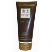 Yardley London Citrus and Wood Hair and Body Wash 200ml