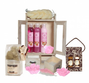 15 Pieces Beauty Gift Set Vanilla Strawberry