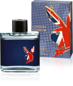 Playboy London by Coty Aftershave Splash 100ml