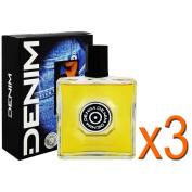 3 x Denim After Shave Original each 100ml / aftershave / For Men