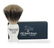 Taylors of Old Bond Street Ivory Pure Badger Shaving Brush Large