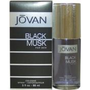 Jovan Black Musk Eau De Cologne Spray for Men 90ml