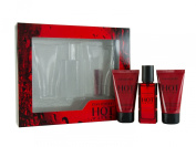 Davidoff Hot Water Eau De Toilette 30ml and Shower Gel 50ml and Aftershave Balm 50ml Gift Set for Him