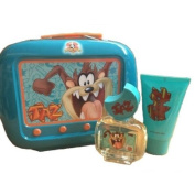 Looney Tunes Taz Gift Set 50ml EDT Spray + 75ml Shower Gel + Tin