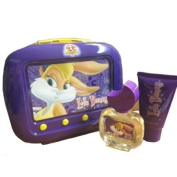 Looney Tunes Lola Bunny Gift Set 50ml EDT Spray + 75ml Shower Gel + Tin