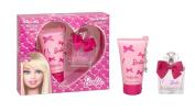 Barbie Barbie Gift Set 75ml EDT + 150ml Body Lotion + Charm
