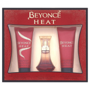 Beyonce Gift Set includes Heat Eau de Perfume 30ml/ Shower Gel 75ml/ Body Lotion 75ml