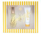 Giorgio Beverly Hills Gift Set Eau De Toilette 50ml/ Mini Eau De Toilette 3.5ml and Body Moisturiser 50ml