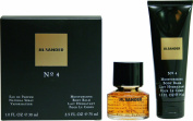 Jil Sander No4 30ml EDP + 75ml Body Balm Ladies Gift Set