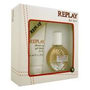 Replay for Her EDT Spray 20ml/ Shower Gel 50ml
