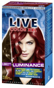 Schwarzkopf LIVE Colour XXL Luminance L38 Radiant Red