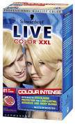 Schwarzkopf LIVE Colour XXL 01 Ice Blonde
