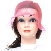 Professional Hairdressing Pink Silicone Highlighting Cap + Hook