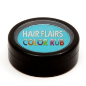 Hair Flairs Colour Rub - Teal Flash