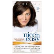 Clairol Nice 'n Easy Permanent Hair Colour - 120 Natural Dark Brown