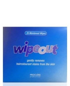 Professional Wipeout 20 Moistened Wipes