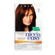 Clairol Nice N Easy Nice 'n Easy Permanent Colour Natural Dark Auburn, Dark Auburn 1 each