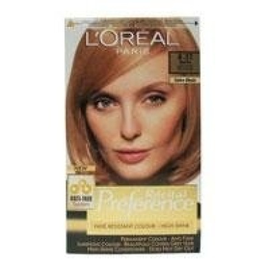 loreal recital preference permanent hair colourant 832 berlin light golden pearl blonde - L Oreal Coloration Blond