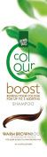 Hennaplus Colour Boost Shampoo Warm Brown