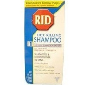 Rid Rid Lice Killing Shampoo With Conditioner - 120ml