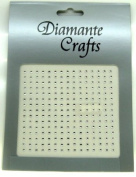 225 x 2mm Clear Diamante Self Adhesive Rhinestone Body Nail Vajazzle Gems - created exclusively for Diamante Crafts