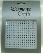225 x 2mm Turquoise Diamante Self Adhesive Rhinestone Nail Body Vajazzle Gems - created exclusively for Diamante Crafts