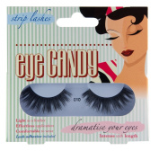 Eye Candy Strip Lashes 010 Dramatise 50's Look Natural False Lashes