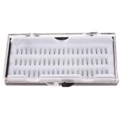 Box of 60 Individual False Eyelashes Eyelash Extensions in Short, Medium & Long