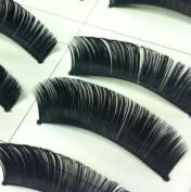 10 Pairs Of Black Fake False Eyelashes Eye Lashes