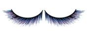Black & Blue fake - false Eyelashes nr.526 Including free adhesive!