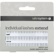Salon System Individual Single Black Lase Extend