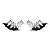 Long Black 4 Petal Feather Eyelashes nr.600 Including free adhesive