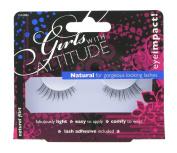 Girls with Attitude Natural Flirt Eye Lashes Set