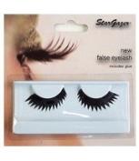 Stargazer Black False Eyelashes - Zigzag