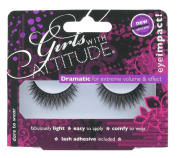 Girls With Attitude Dare to Wear False Eyelashes