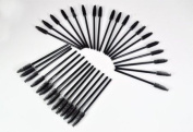 100 Disposable Mascara Wands Brushes For Eyelashes Extensions/ Makeup Artists