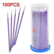 Caltrad 100pcs Disposable Eyelash Extension Mascara Applicator Individual Microbrush