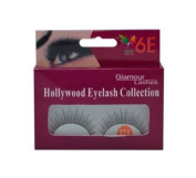 6E Artificial Eyelashes Glamour Pack of 3