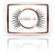 Kardashian Khroma Make Up False Eyelashes - Bardot Lashes with glue