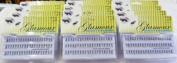 (1 Dozen)12 X Glamour Beauty Eyelashes -Flare Long Black