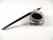 New Waterproof Eye Liner Eyeliner Gel Makeup Cosmetic + Brush Black