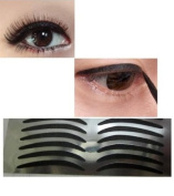 14 pairs simple black eyeliner stickers , eyeliner stick on, glam