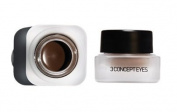 KOREAN COSMETICS, Style NANDA_ 3 CONCEPT EYES, GEL EYELINER # BROWN (6g, Waterproof, soft feeling, Long Lasting) [001KR]