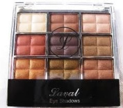 Laval Eyeshadow Palette - Brown Collection