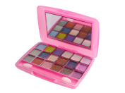 Pink La Femme 18 Colour Powder Shimmer Eyeshadow Palette