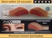 2 X Pair Magic Eyeshadow Instant Eyes Eye Shadow Temporary Transfer Sheet Sticker Make Up Makeup Tattoo Tatoo- Shade 10